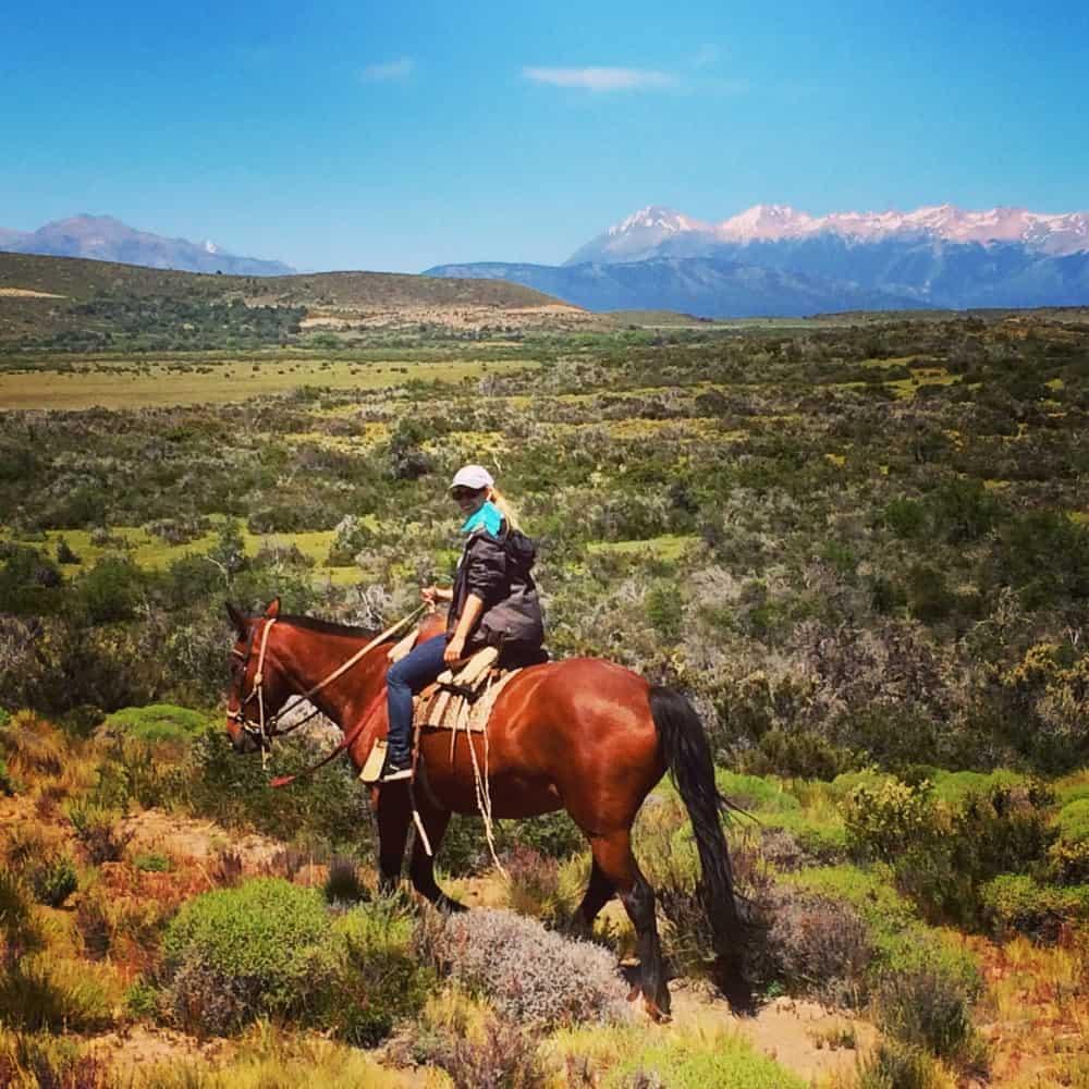 Gruß von einer Estancia in Patagonien