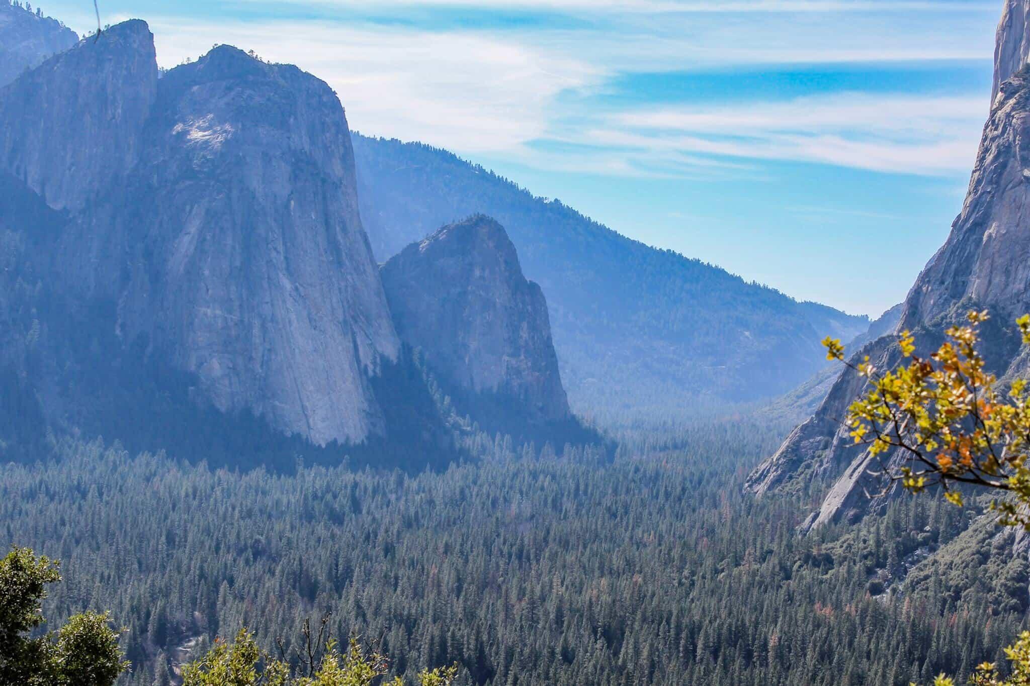 Ausblick Yosemite Valley 1