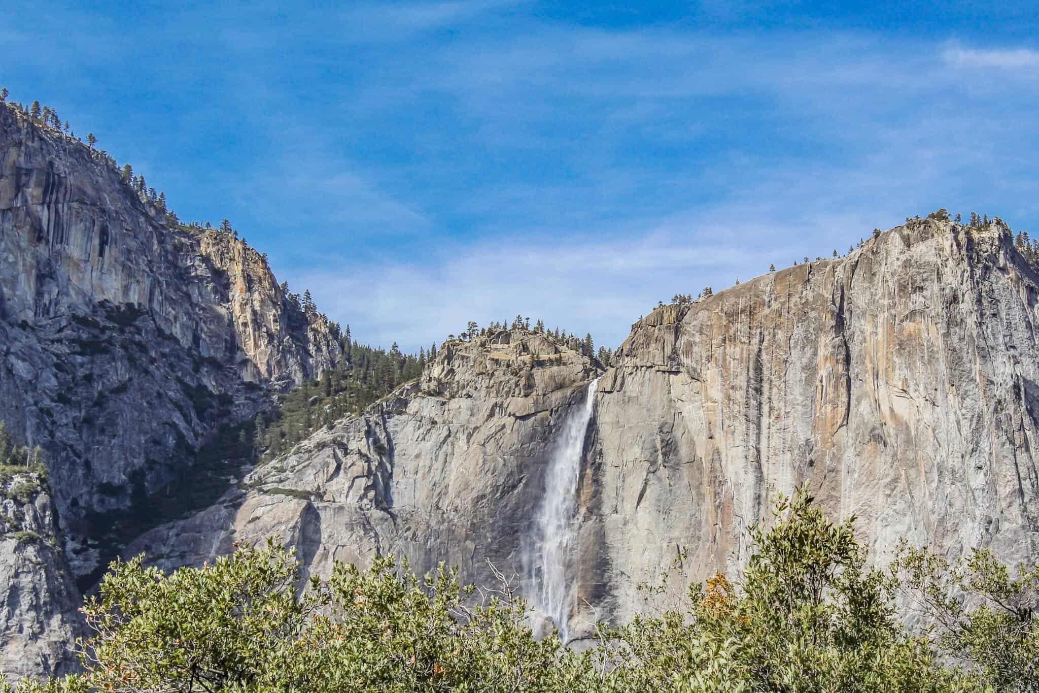 Ausblick auf die Yosemite Falls 1