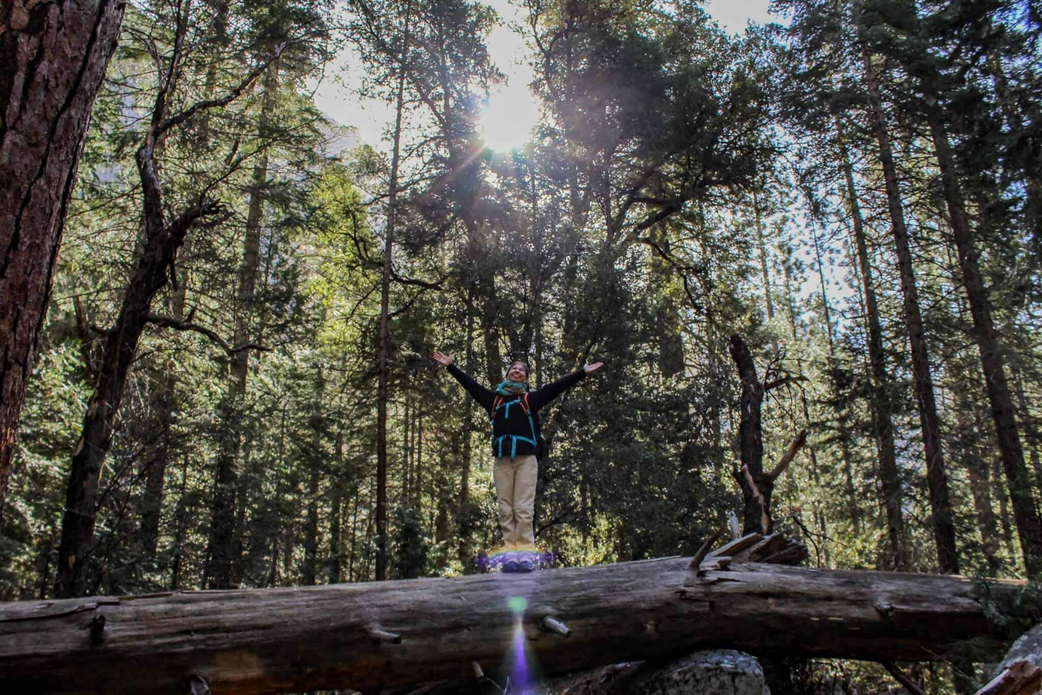 Barbara im Yosemite Nationalpark 3