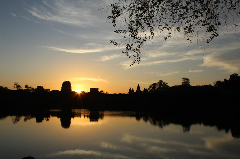 Angkor im Sonnenaufgang