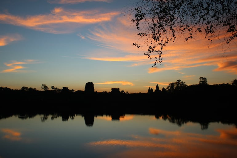Sunrise over Angkor Wat – One of my Most Beautiful Sunrises