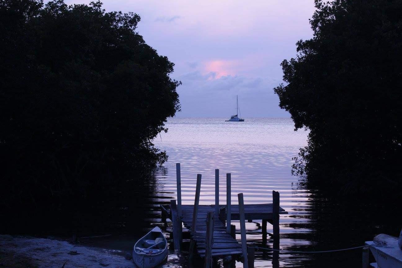 Sonnenuntergang Caye Caulker