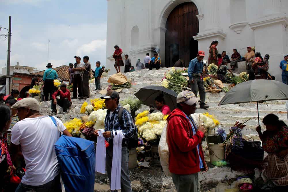 Auf dem Markt in Chichicastenango