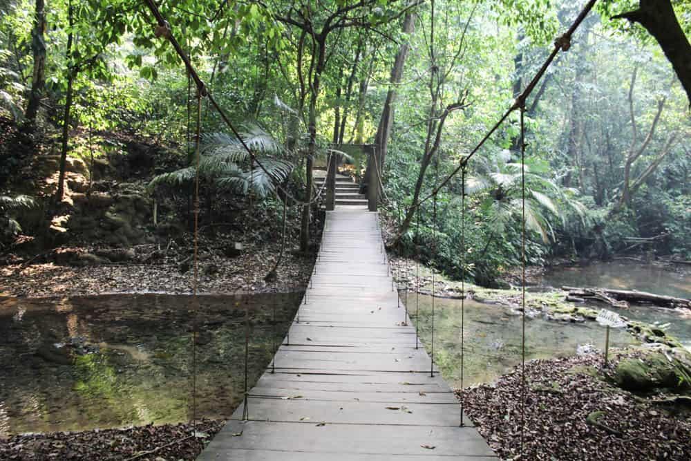 Brücke in Palenque