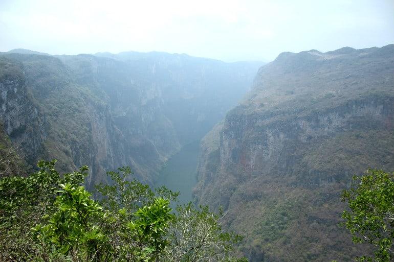 Canyon Sumidero von oben 2