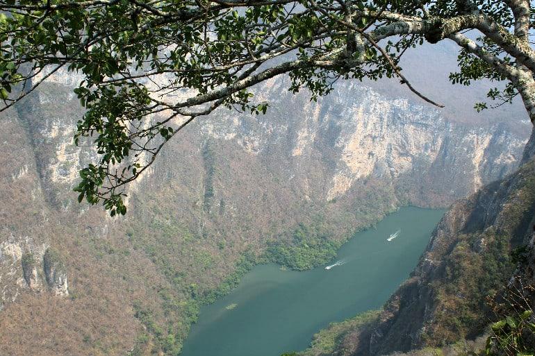 Canyon Sumidero von oben