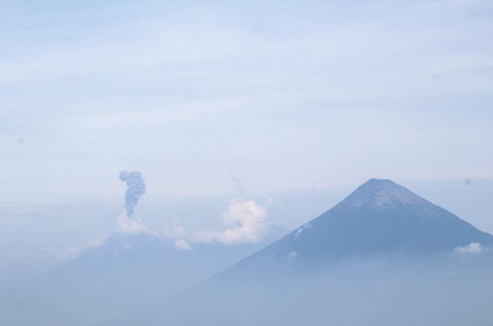 Explosion Volcán del Fuego