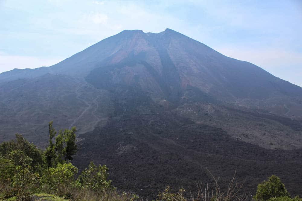 Krater des Vulkan Pacaya