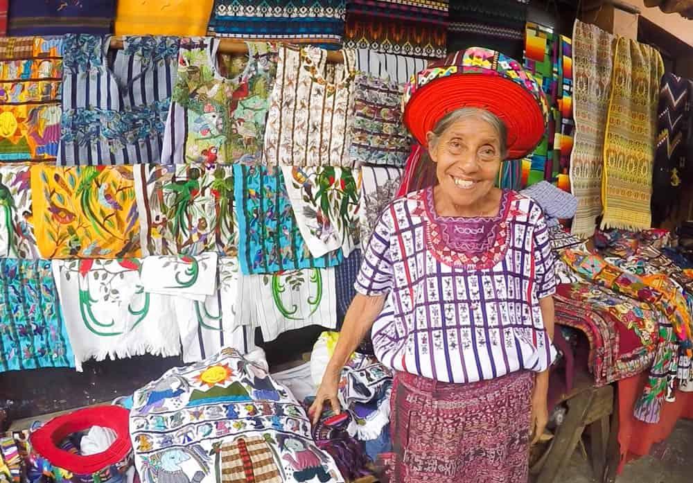 Traveling Guatemala – María at Lago de Atitlan