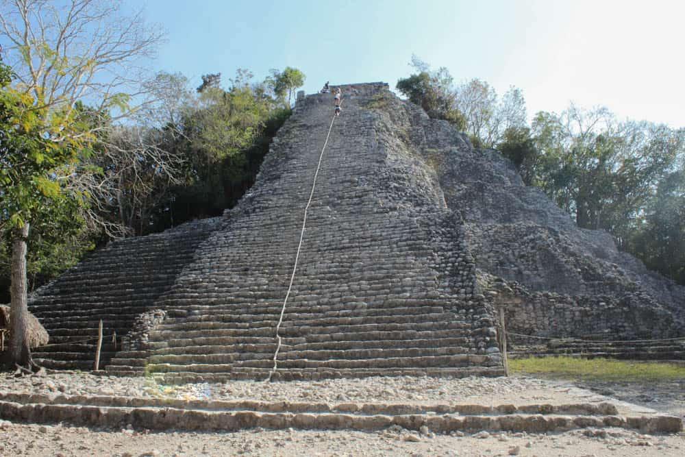 Pyramide der Maya-Ruinen in Cobá