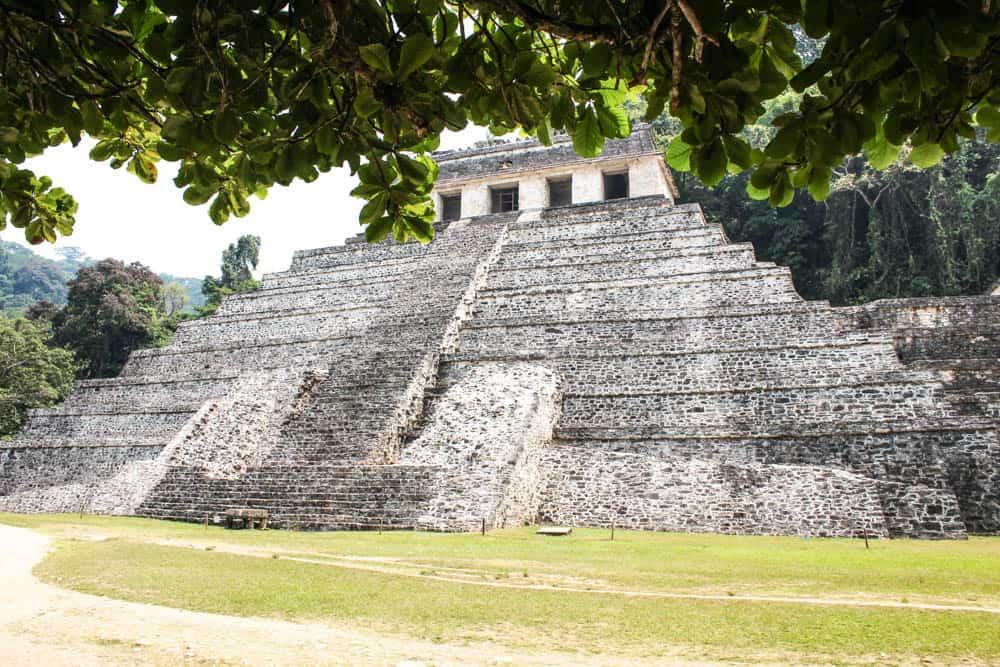 Maya-Ruine in Palenque