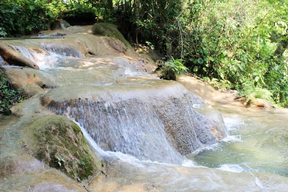 Wasserfall in Agua Azul