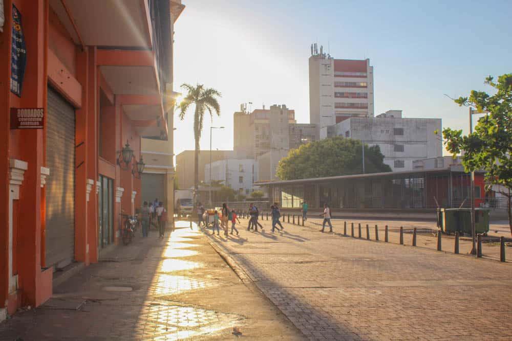 Morgenlicht in Cartagena