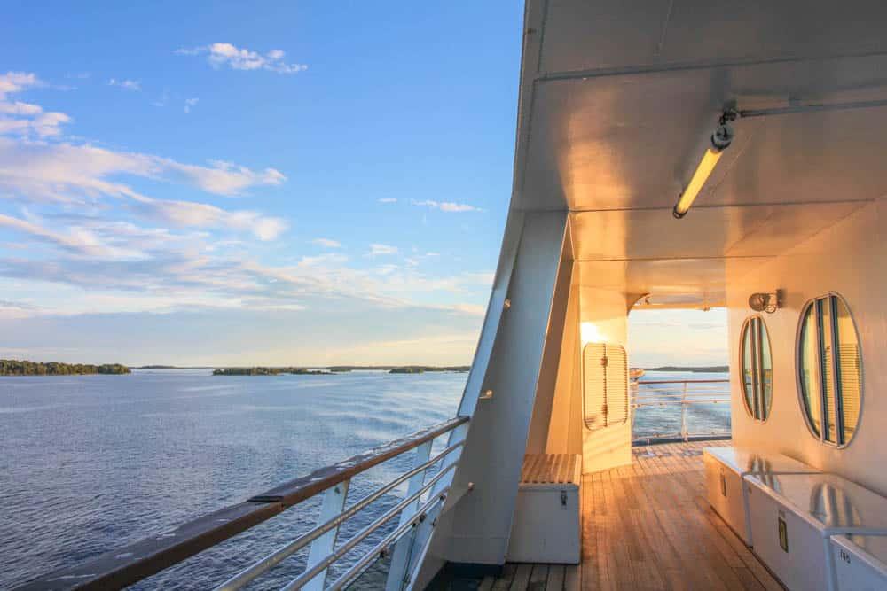Triangle City Cruise: Die Symphony im Sonnenuntergang