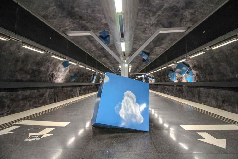Metrostation Solna Strand