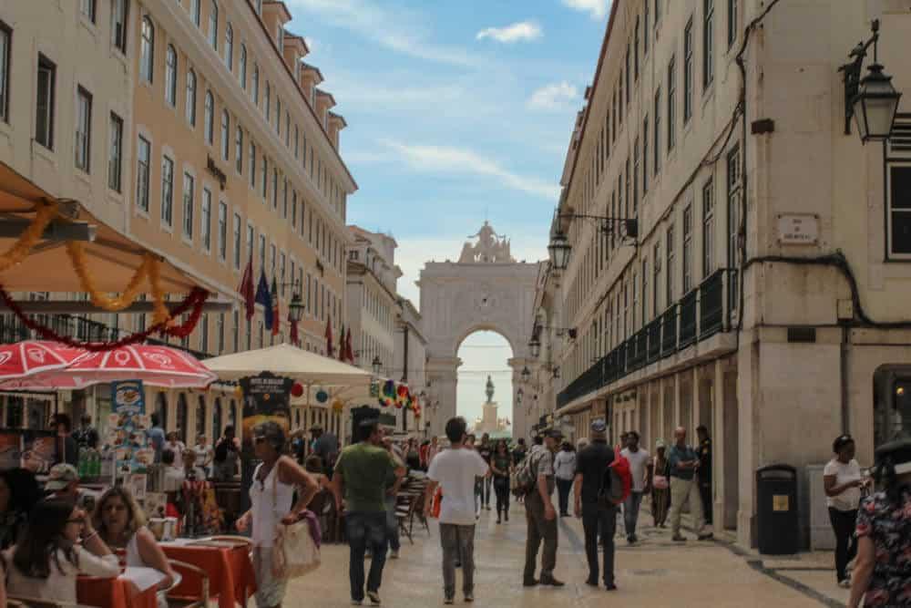 Free Walking Tour - Arco da Rua Augusta Lissabon