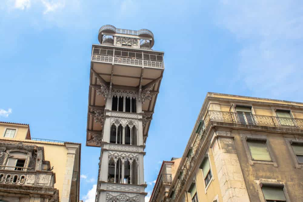 Free Walking Tour - Aufzug-Lissabon