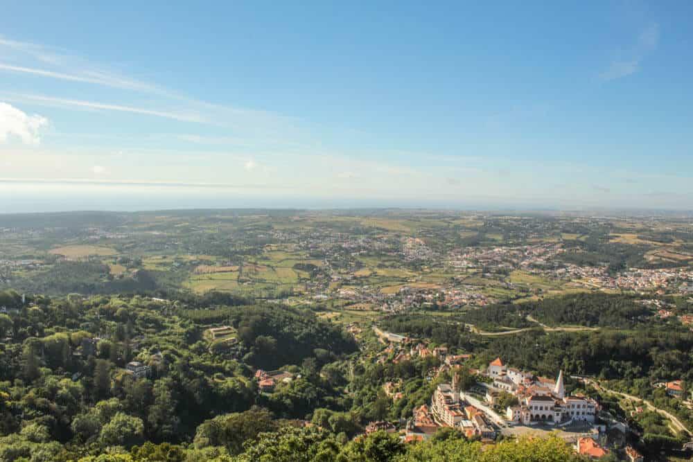 Ausblick vom Castelo dos Mouros