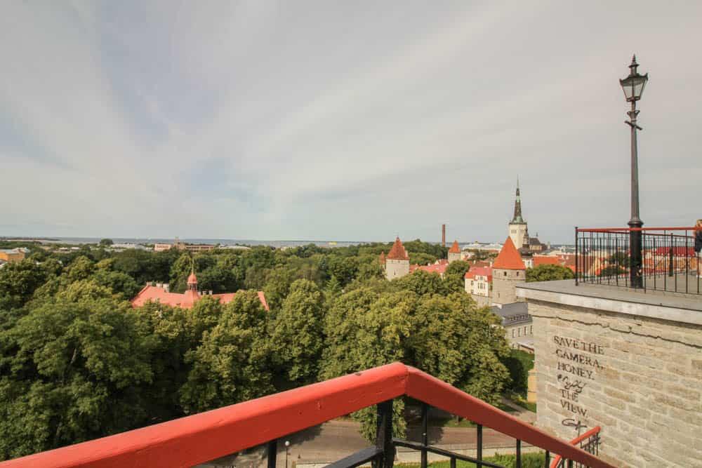 Aussichtspunkt Altstadt Tallinn