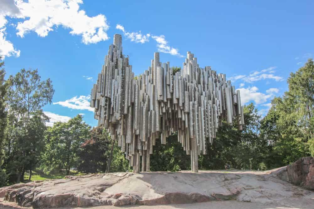 Das Sibelius-Denkmal