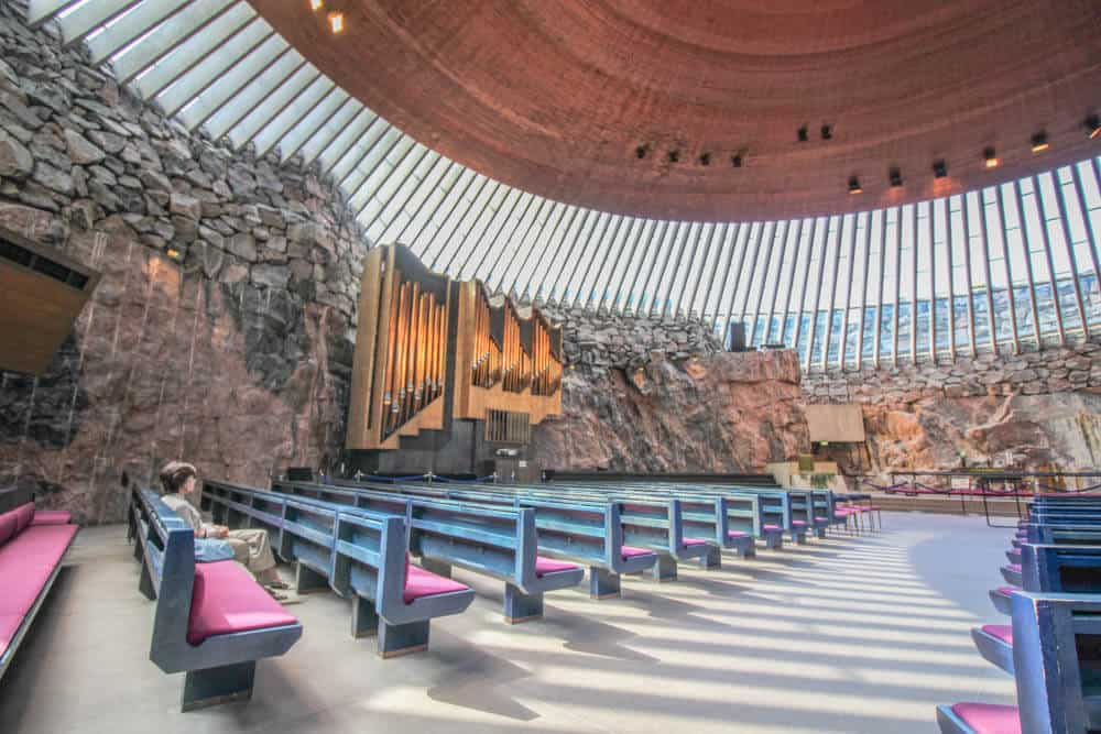 The Church of Rocks: Temppeliaukio