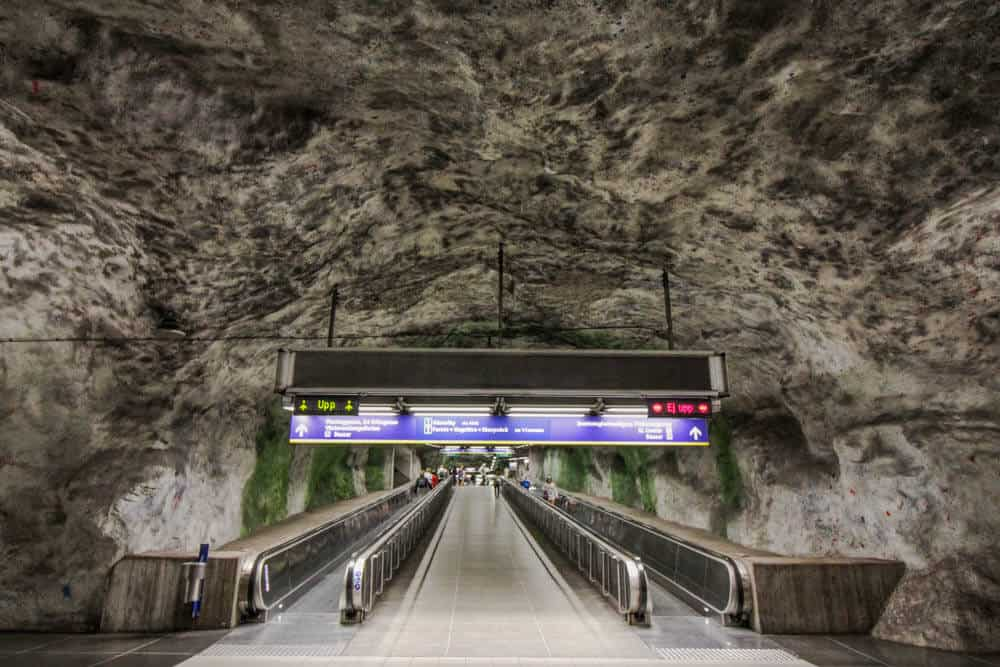 Metrostation Fridhemsplan