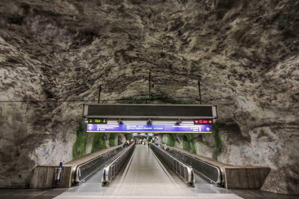 Metro station Fridhemsplan