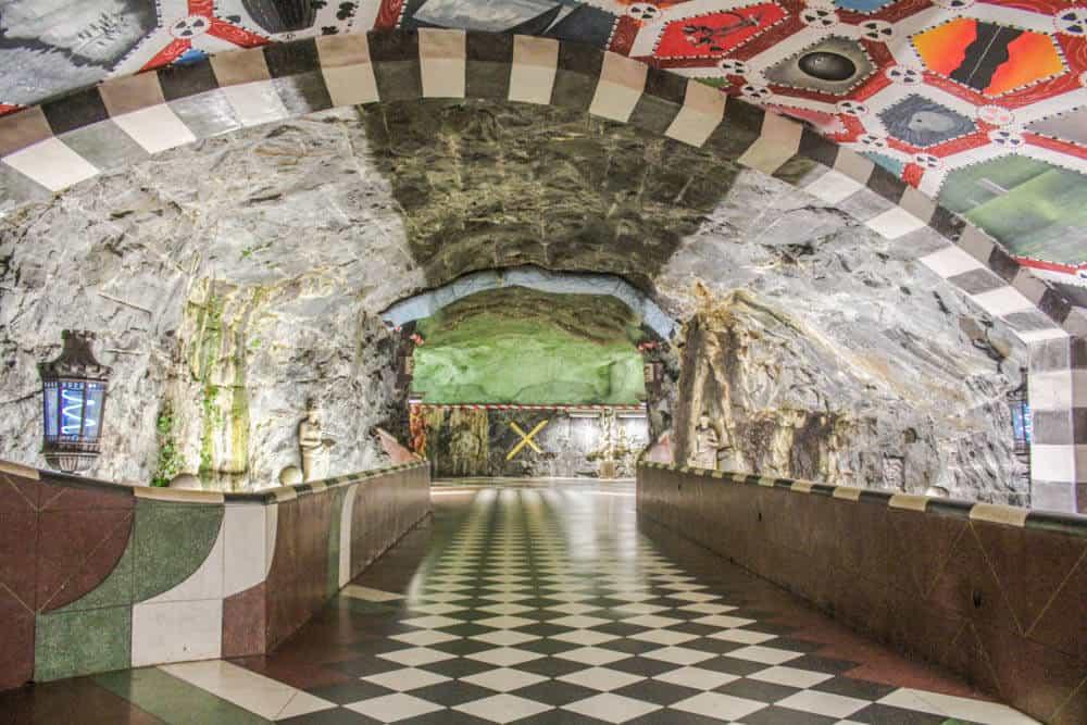 Kungsträdgården Eingang