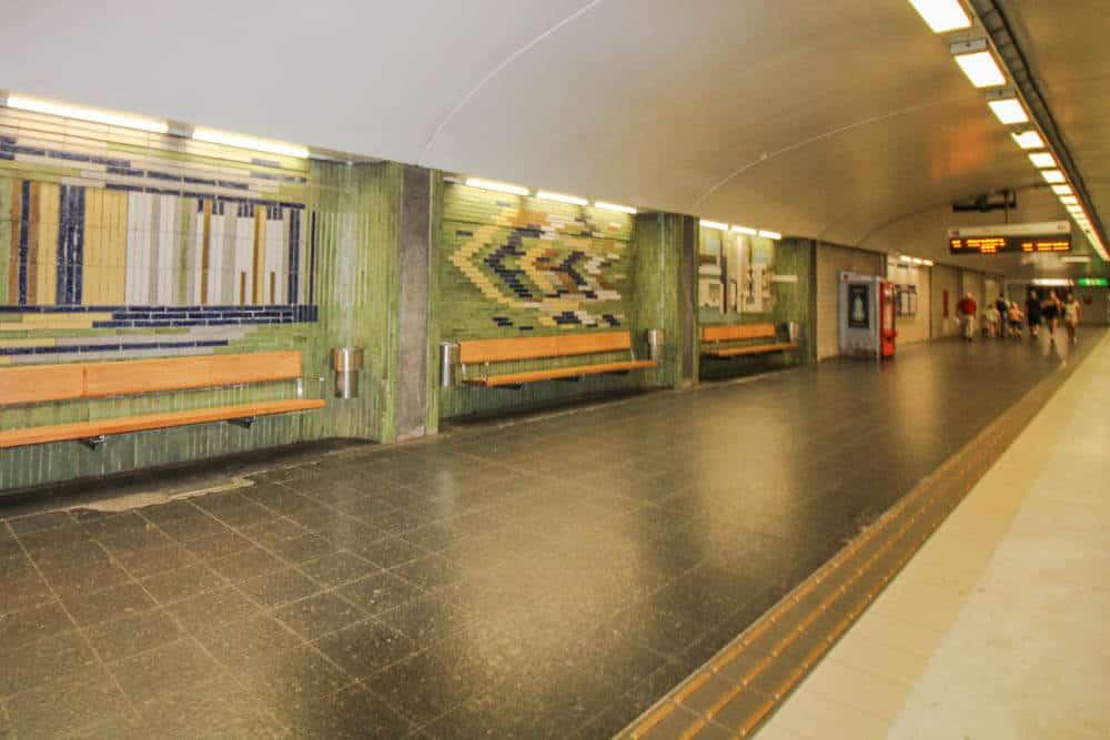 Metro station Karlaplan