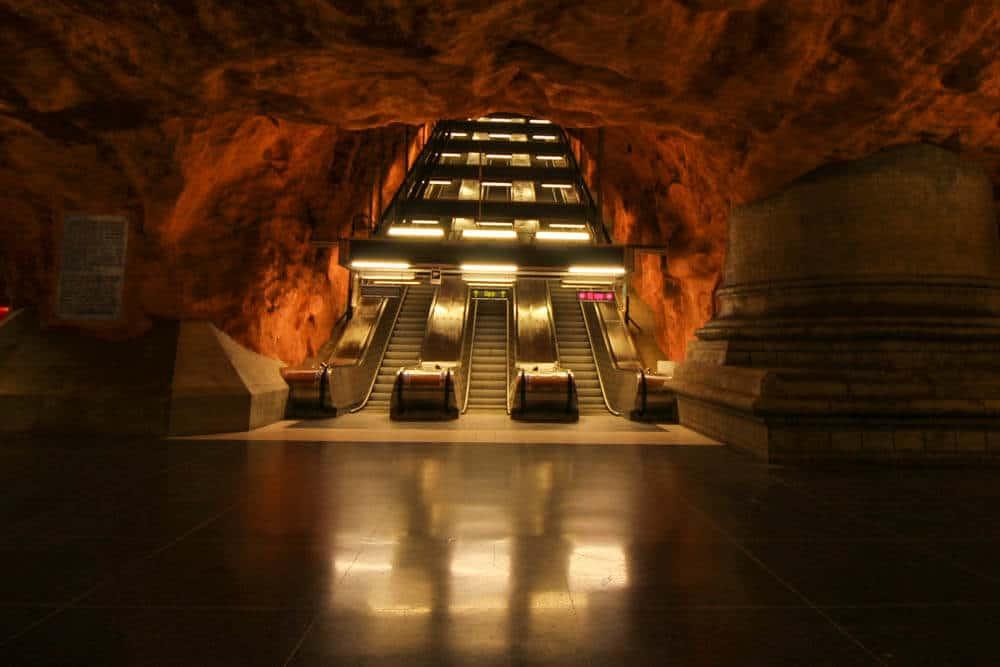 Metrostation Kungsträdgården Stockholm