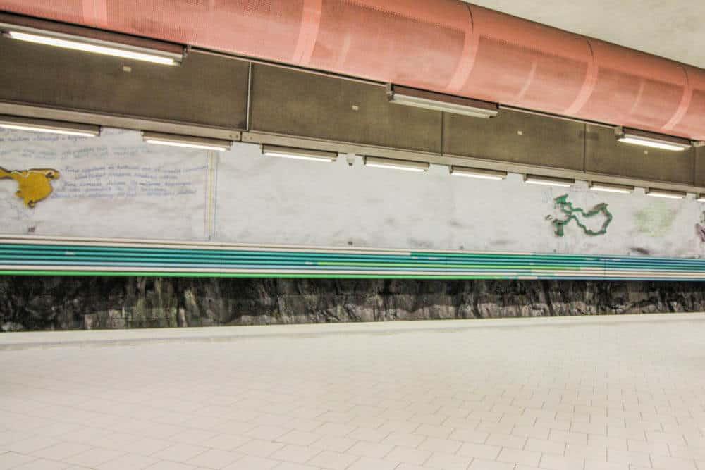 Metro stationRissne