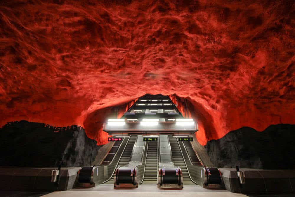 Metrostation Solna Centrum