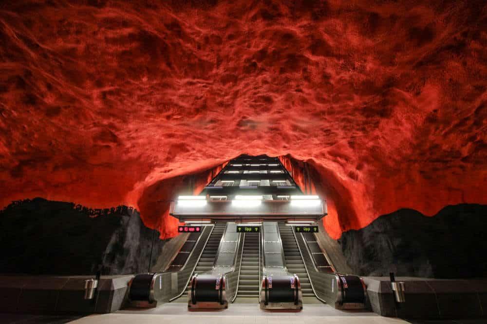Metro stationSolna Centrum