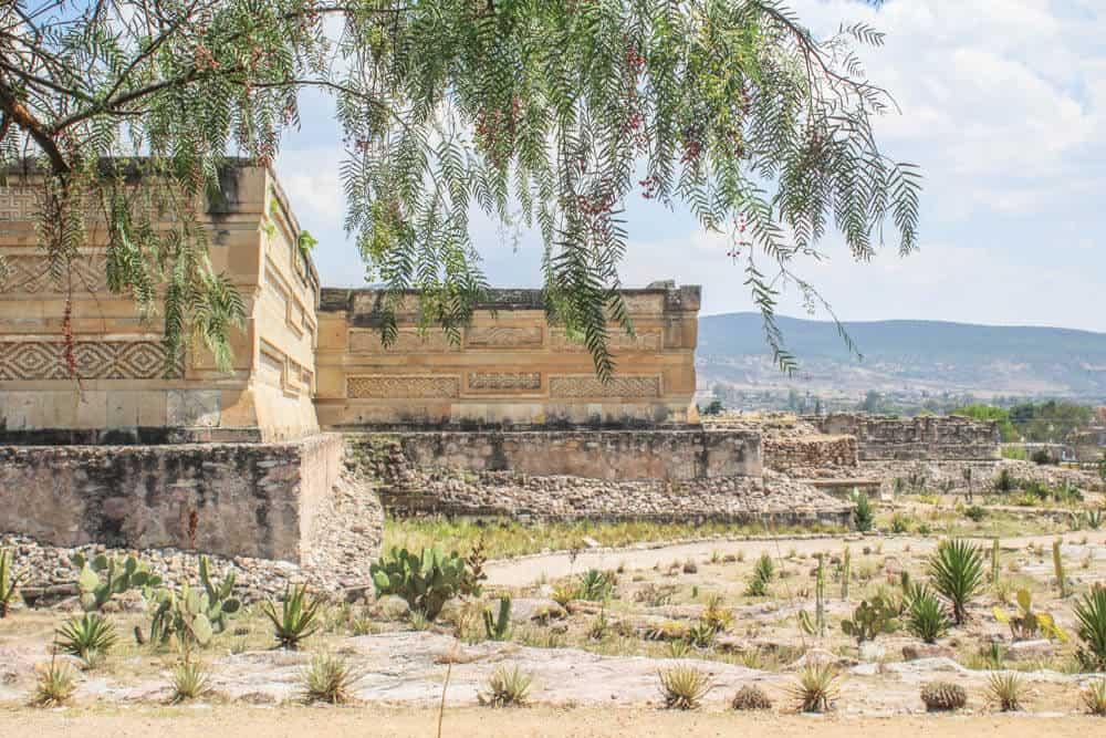 Ruinen in Mitla