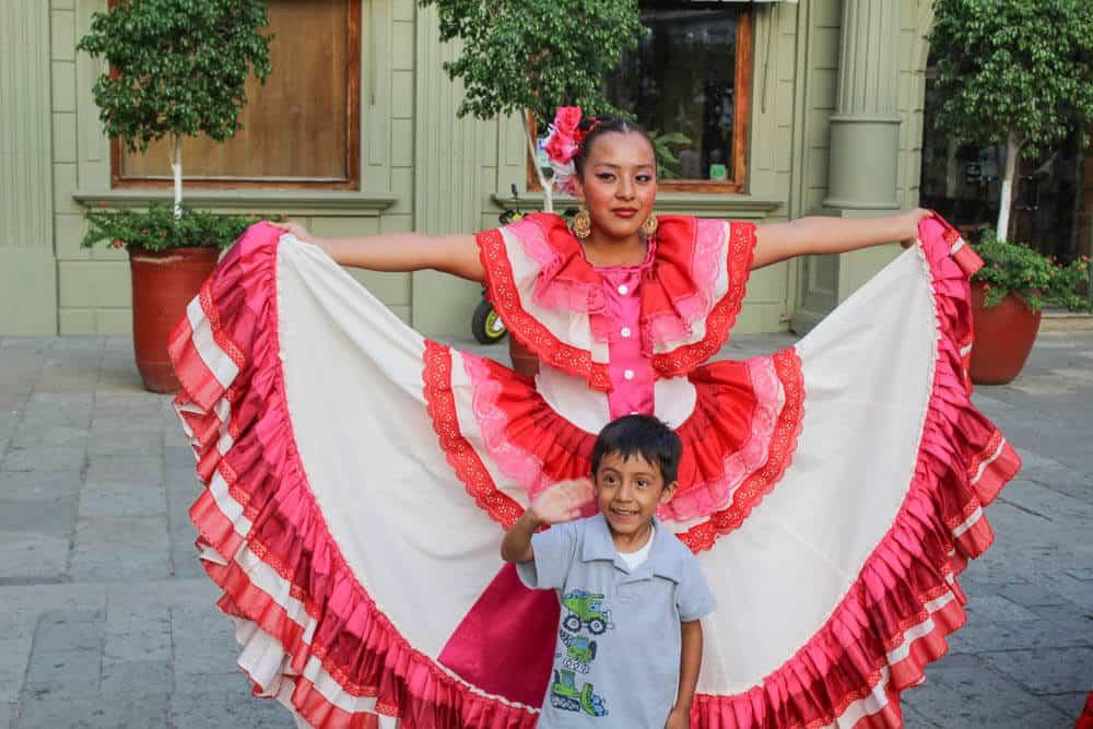 Tänzer in Oaxaca