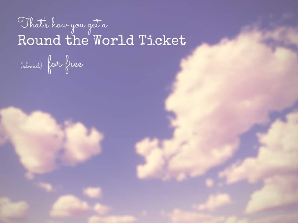 Round the World Ticket For Free