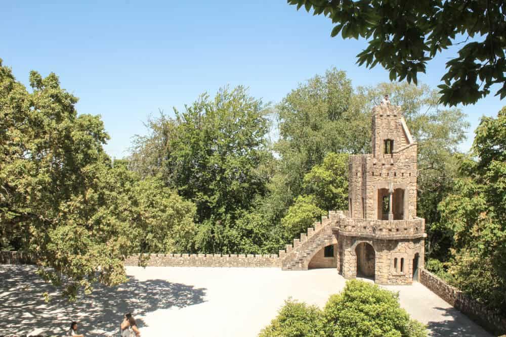 Turm und Platz Quinta da Regaleira