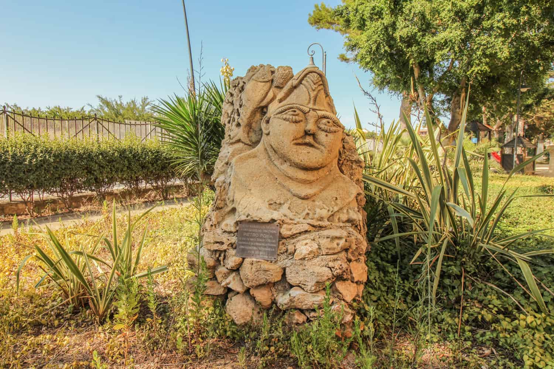 Figur im Giardino Marsala