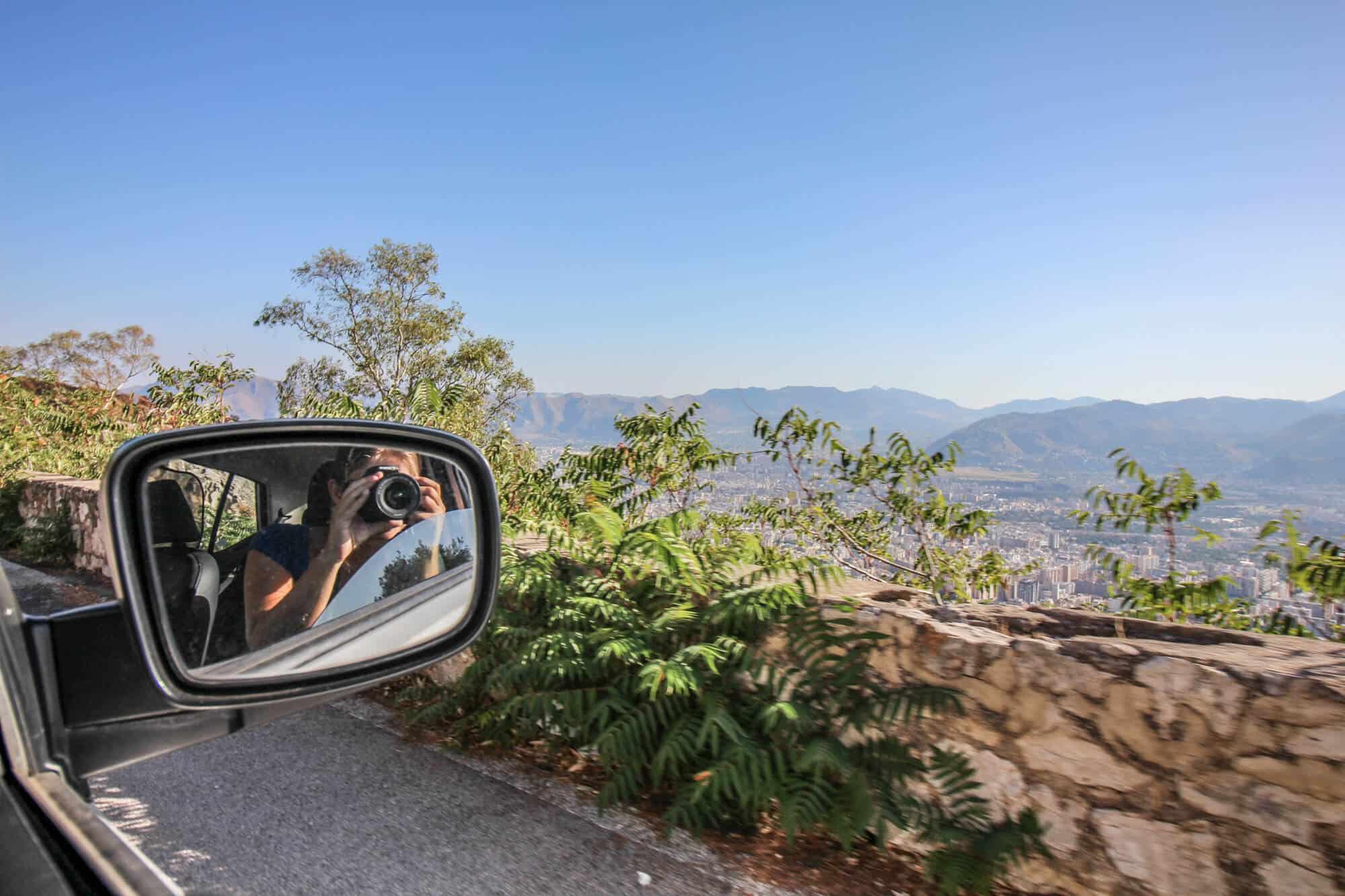 Foto aus dem Auto