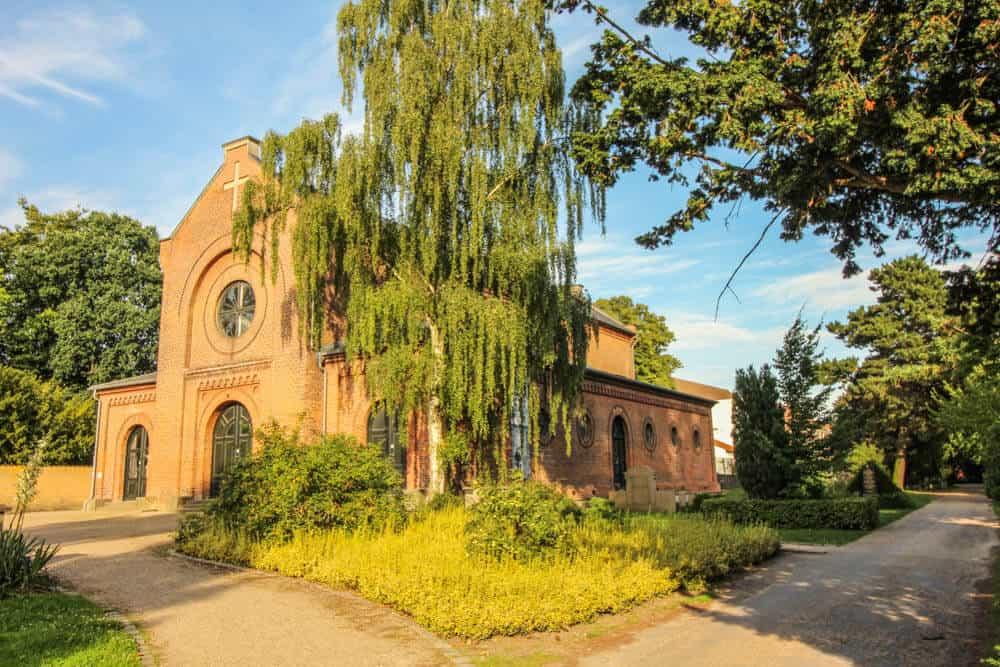 Friedhof Kopenhagen Kirche