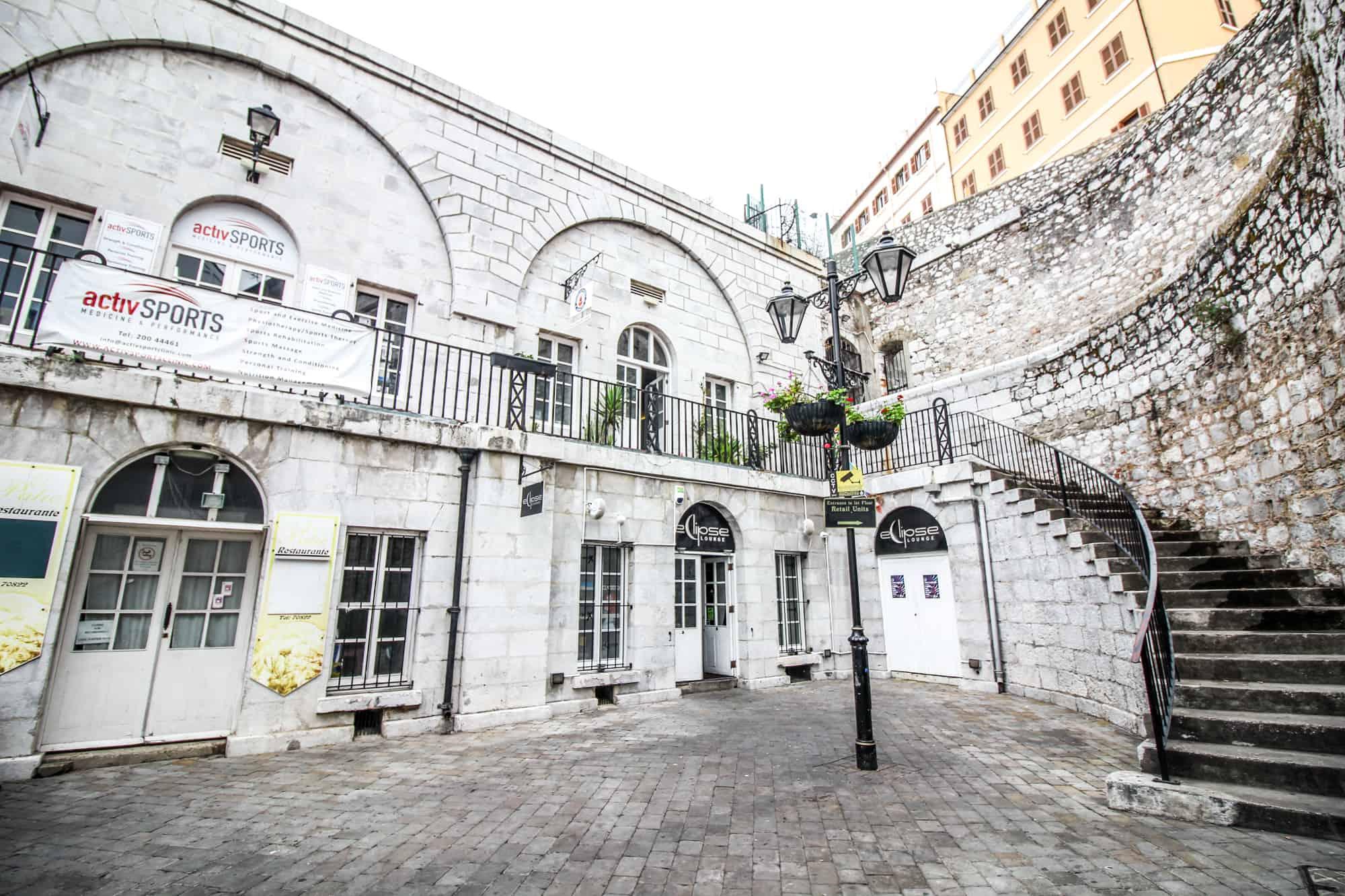 In der Altstadt Gibraltar