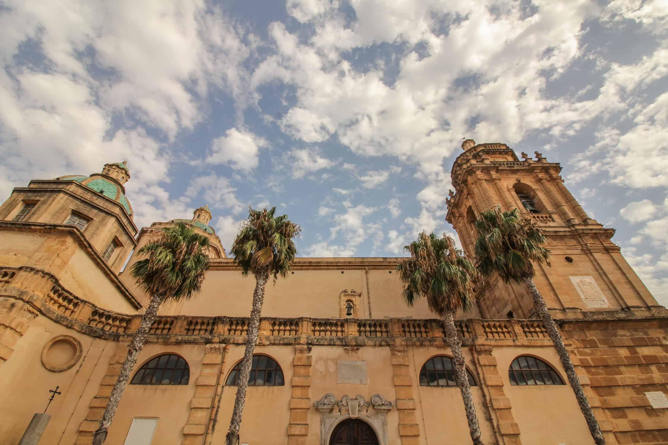 Kathedrale in Mazara del Vallo von außen