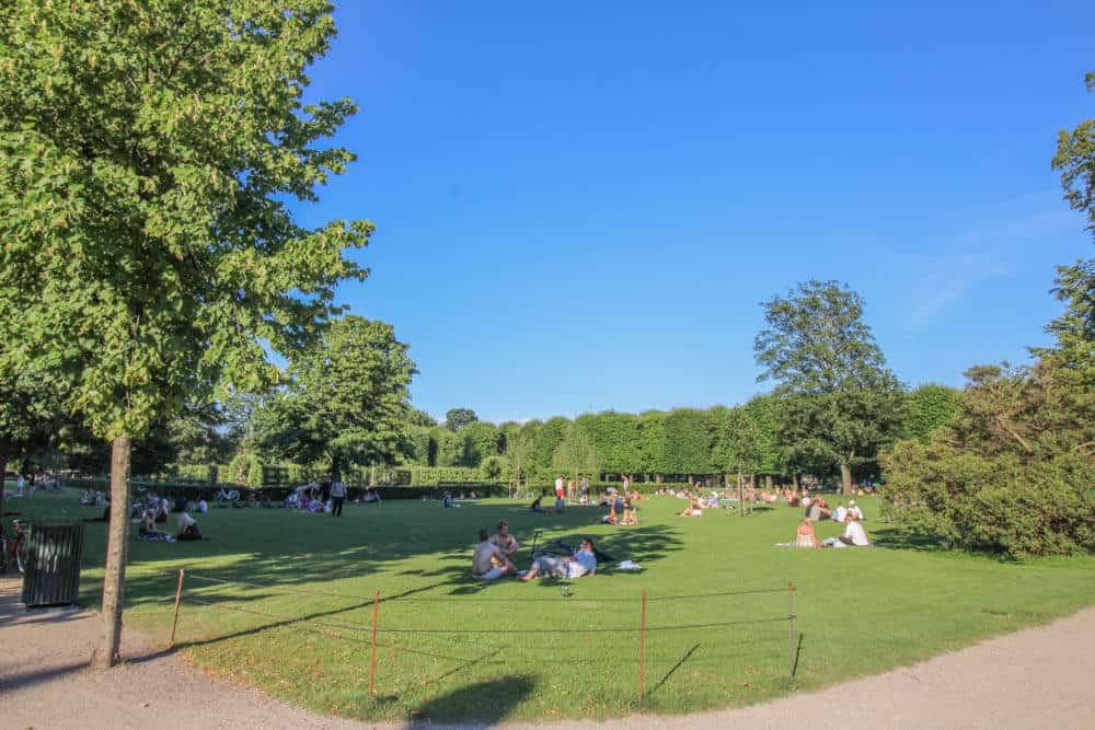 Kongens Have Park Kopenhagen
