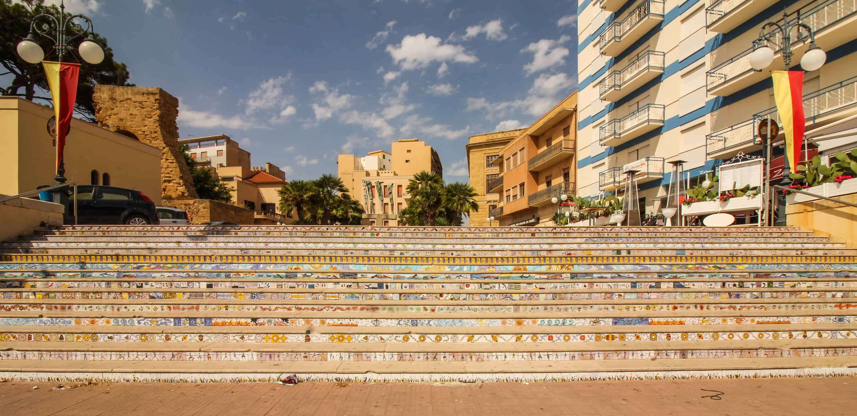 Mosaiktreppe in Mazara del Vallo