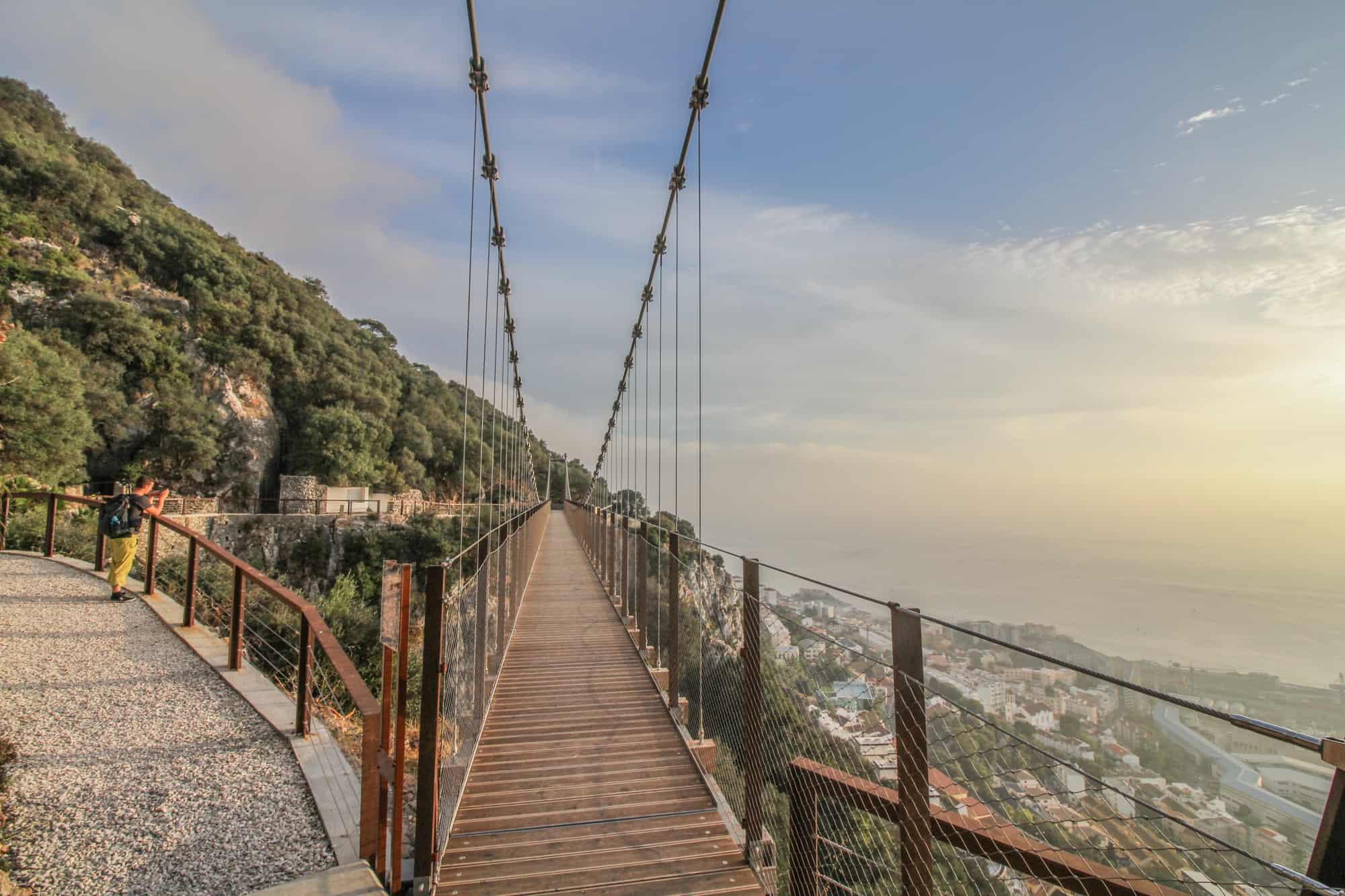 Hängebrücke Rock of Gibraltar