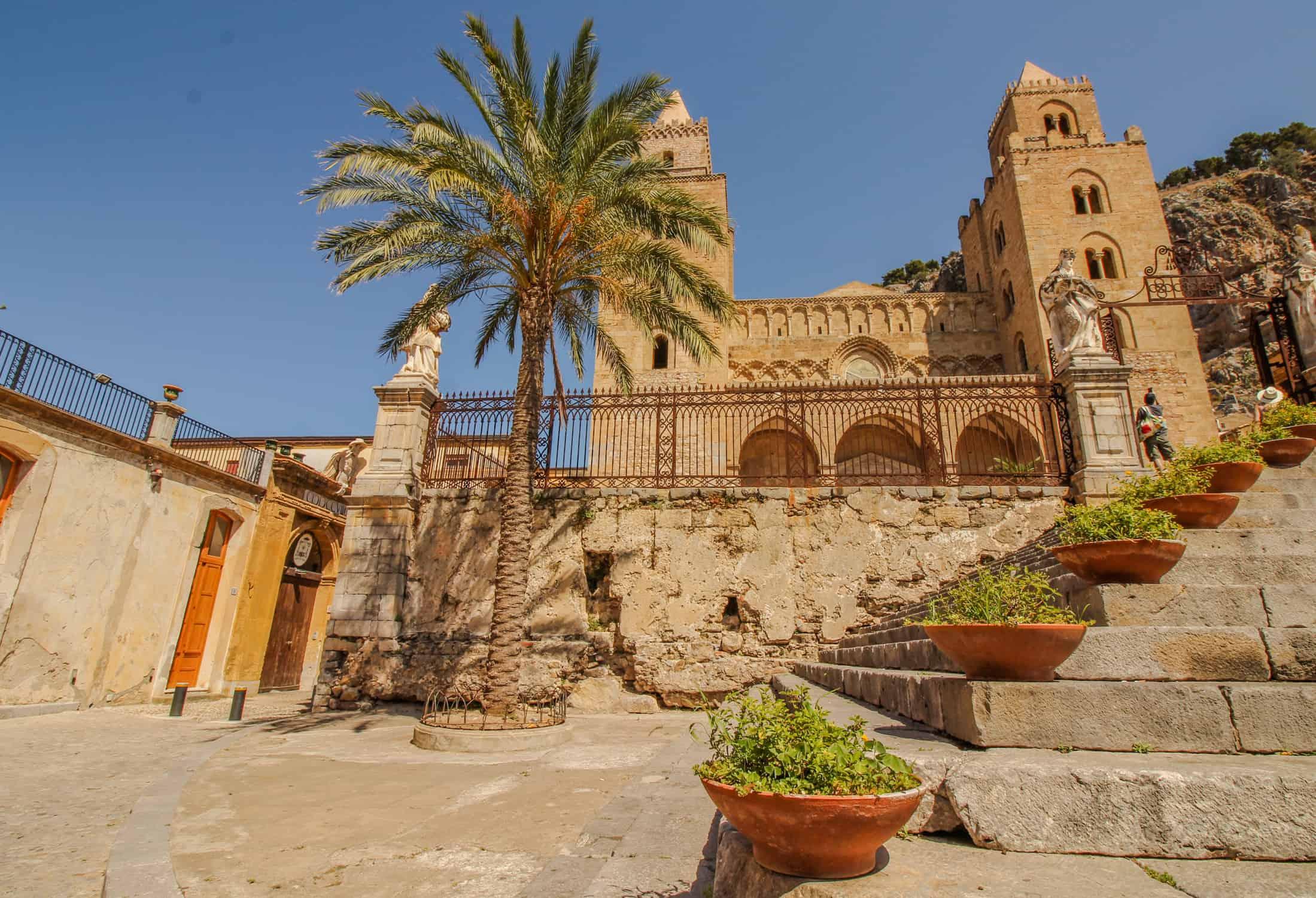Kathedrale Cefalù außen