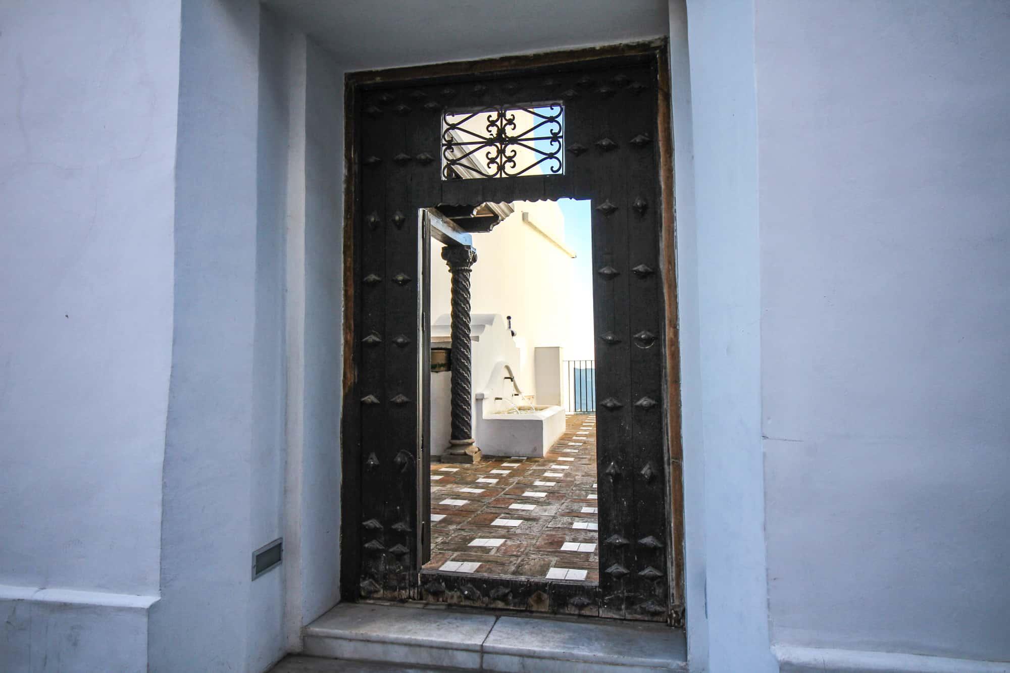 Blick ins Haus vom Poeten in Ronda