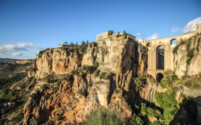 Ronda – Where a Bridge Over a Canyon Connects Two Parts of a City