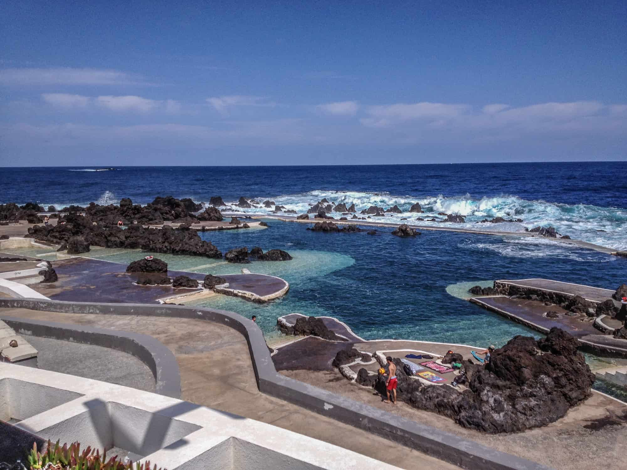 Natural pools porto moniz